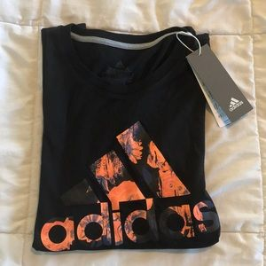 Women's size small adidas floral bos tee